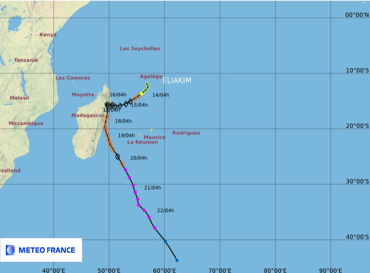Image d'illustration pour Tempête Eliakim : Madagascar touché, La Réunion en marge