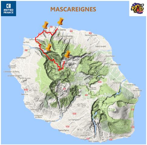 parcours Mascareignes